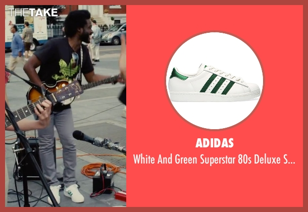Adidas white sneakers from Begin Again seen with Unknown Actor (Unknown Character)