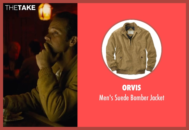 Orvis brown jacket from Black Mass seen with Unknown Actor (Unknown Character)