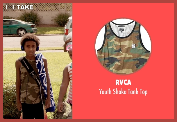 RVCA black top from Black or White seen with Unknown Actor (Unknown Character)