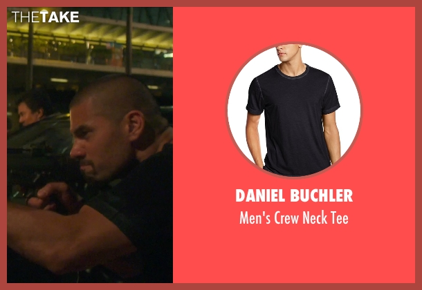 Daniel Buchler black tee from Blackhat seen with Unknown Actor (Unknown Character)