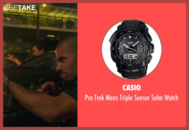 Casio black watch from Blackhat seen with Unknown Actor (Unknown Character)