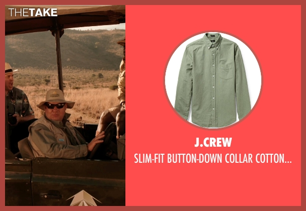 J.CREW green shirt from Blended seen with Unknown Actor (Unknown Character)