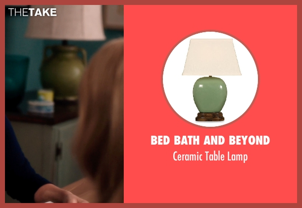 Bed bath and beyond lamp from Blended seen with Unknown Actor (Unknown Character)