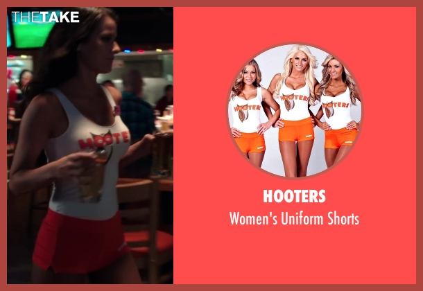 Hooters orange shorts from Blended seen with Unknown Actor (Unknown Character)