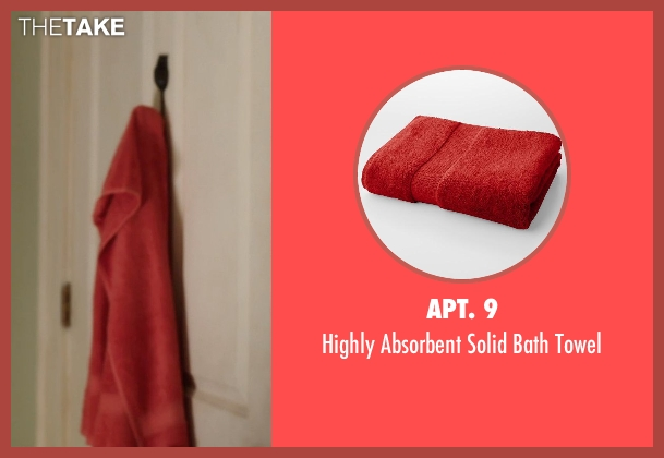 Apt. 9 red towel from Blended seen with Unknown Actor (Unknown Character)
