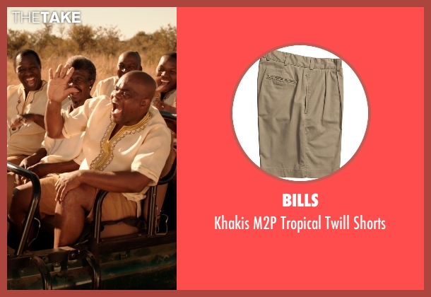 Bills shorts from Blended seen with Unknown Actor (Unknown Character)