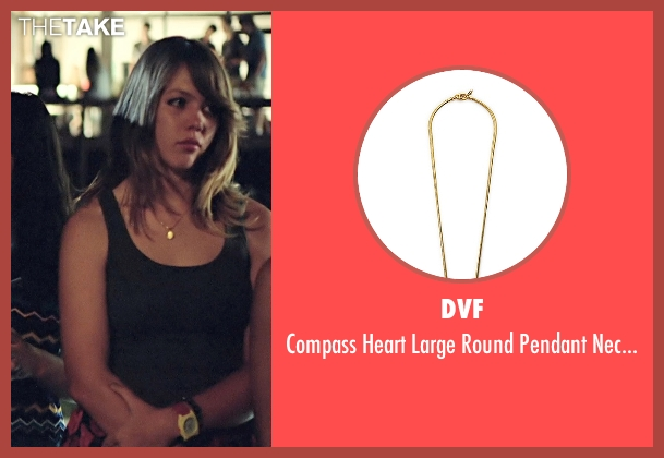 DVF gold necklace from Boyhood seen with Unknown Actor (Unknown Character)