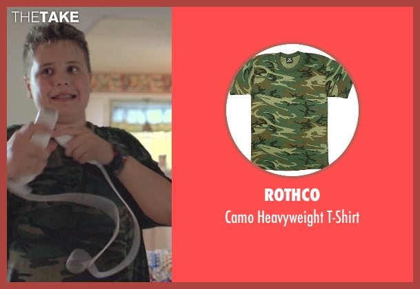 Rothco green t-shirt from Boyhood seen with Unknown Actor (Unknown Character)
