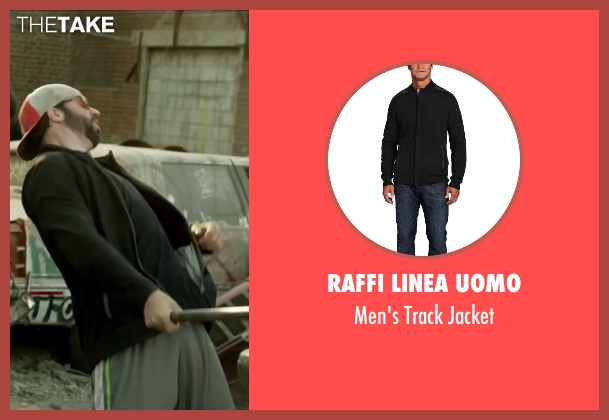 Raffi Linea Uomo black jacket from Brick Mansions seen with Unknown Actor (Unknown Character)