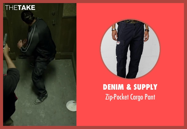 Denim & Supply black pant from Brick Mansions seen with Unknown Actor (Unknown Character)