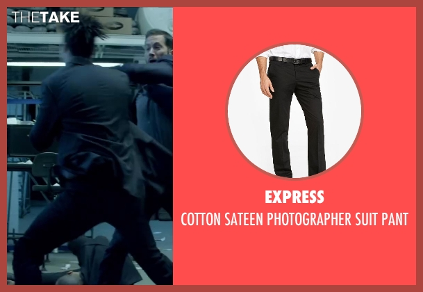 Express black pant from Brick Mansions seen with Unknown Actor (Unknown Character)