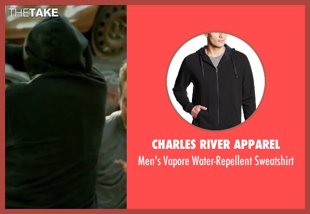 Charles River Apparel black sweatshirt from Brick Mansions seen with Unknown Actor (Unknown Character)