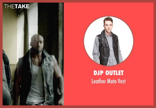 DJP OUTLET black vest from Brick Mansions seen with Unknown Actor (Unknown Character)