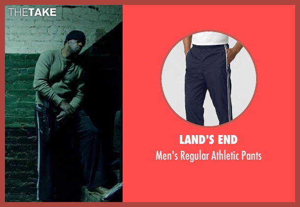 Land's End blue pants from Brick Mansions seen with Unknown Actor (Unknown Character)