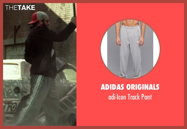 adidas Originals gray pant from Brick Mansions seen with Unknown Actor (Unknown Character)
