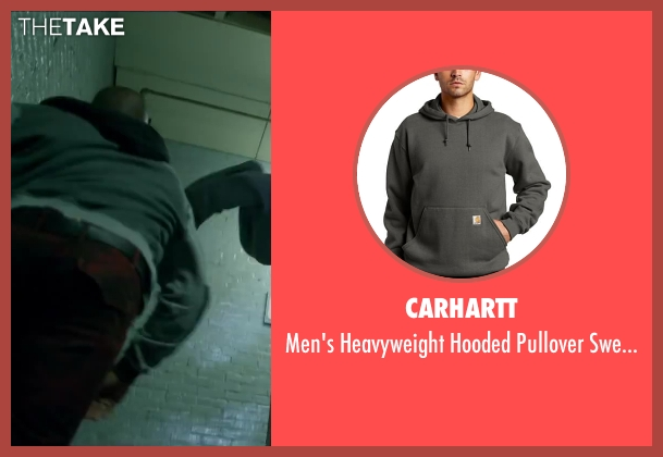 Carhartt gray sweatshirt from Brick Mansions seen with Unknown Actor (Unknown Character)