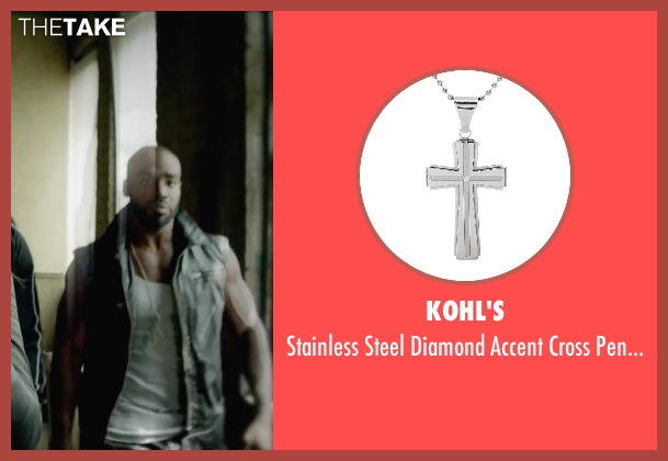 Kohl's silver pendant from Brick Mansions seen with Unknown Actor (Unknown Character)