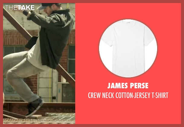 JAMES PERSE white t-shirt from Brick Mansions seen with Unknown Actor (Unknown Character)