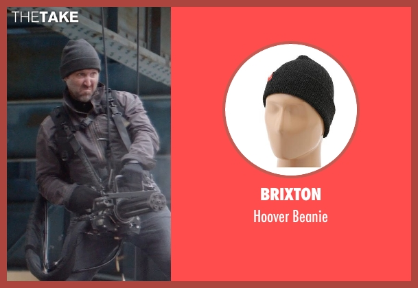 Brixton black beanie from Captain America: The Winter Soldier seen with Unknown Actor (Unknown Character)