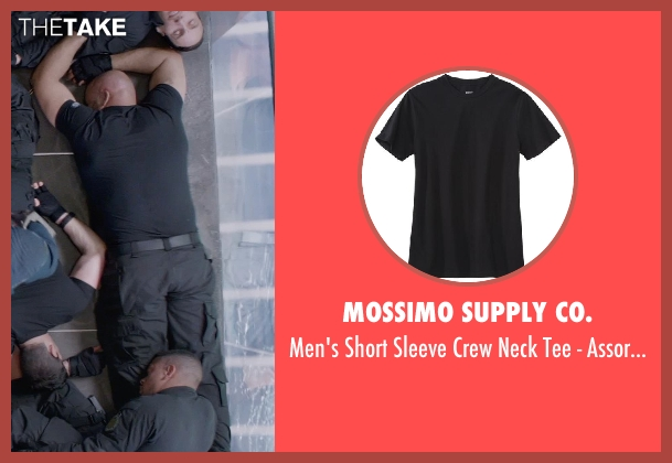 Mossimo Supply Co. black colors from Captain America: The Winter Soldier seen with Unknown Actor (Unknown Character)