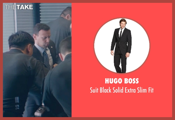 Hugo Boss black fit from Captain America: The Winter Soldier seen with Unknown Actor (Unknown Character)