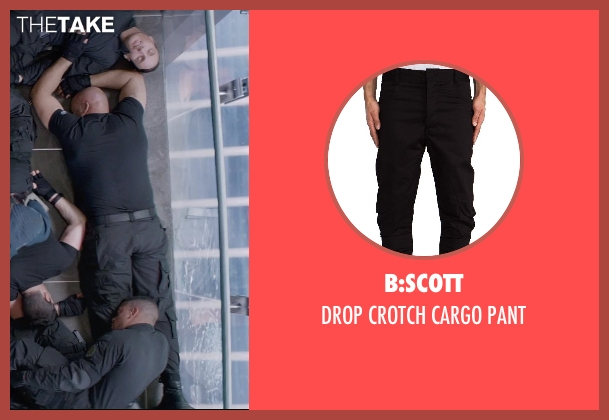 B:SCOTT black pant from Captain America: The Winter Soldier seen with Unknown Actor (Unknown Character)