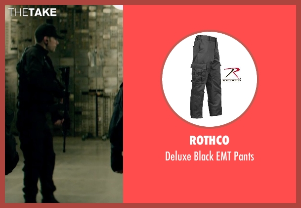 Rothco black pants from Captain America: The Winter Soldier seen with Unknown Actor (Unknown Character)