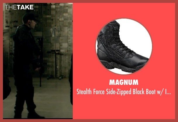 Magnum black toe from Captain America: The Winter Soldier seen with Unknown Actor (Unknown Character)