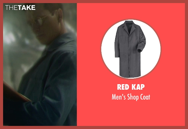 Red Kap coat from Captain America: The Winter Soldier seen with Unknown Actor (Unknown Character)