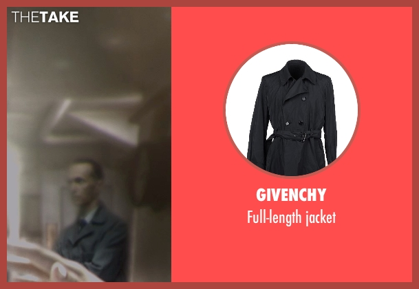 GIVENCHY jacket from Captain America: The Winter Soldier seen with Unknown Actor (Unknown Character)