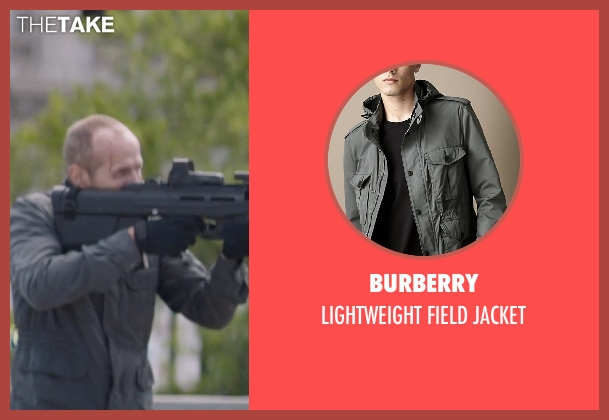 Burberry jacket from Captain America: The Winter Soldier seen with Unknown Actor (Unknown Character)