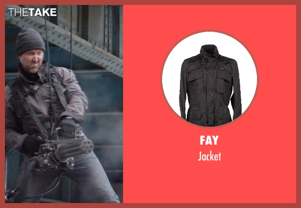 FAY jacket from Captain America: The Winter Soldier seen with Unknown Actor (Unknown Character)
