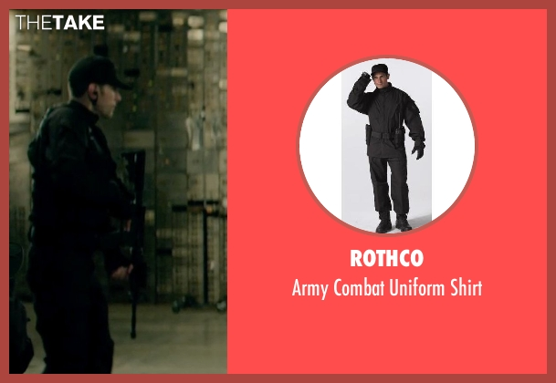 Rothco shirt from Captain America: The Winter Soldier seen with Unknown Actor (Unknown Character)