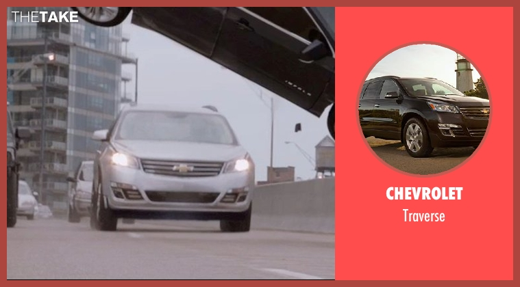 Chevrolet traverse from Captain America: The Winter Soldier seen with Unknown Actor (Unknown Character)