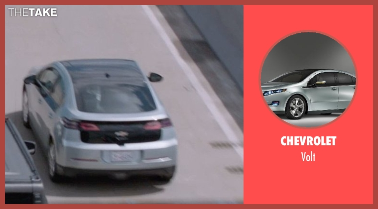Chevrolet volt from Captain America: The Winter Soldier seen with Unknown Actor (Unknown Character)