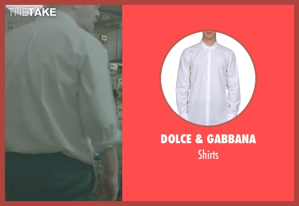 DOLCE & GABBANA white shirts from Captain America: The Winter Soldier seen with Unknown Actor (Unknown Character)