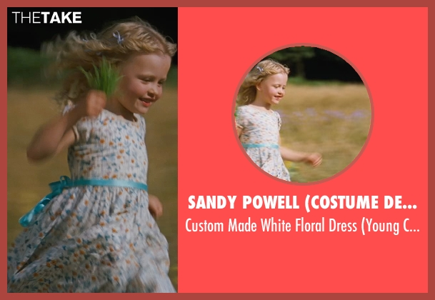 Sandy Powell (Costume Designer) white dress from Cinderella seen with Unknown Actor (Unknown Character)