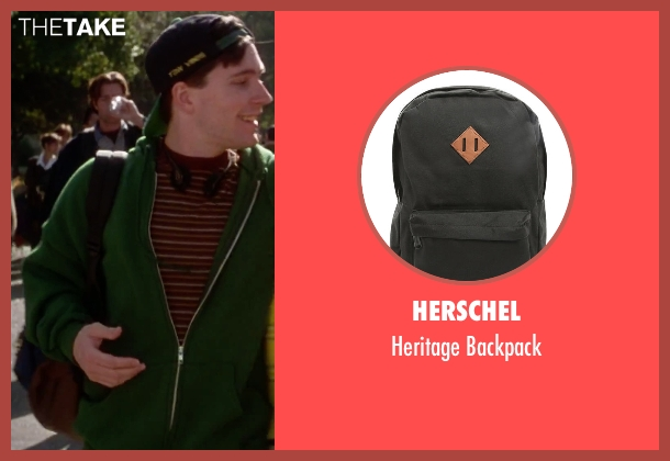 Herschel black backpack from Clueless seen with Unknown Actor (Unknown Character)