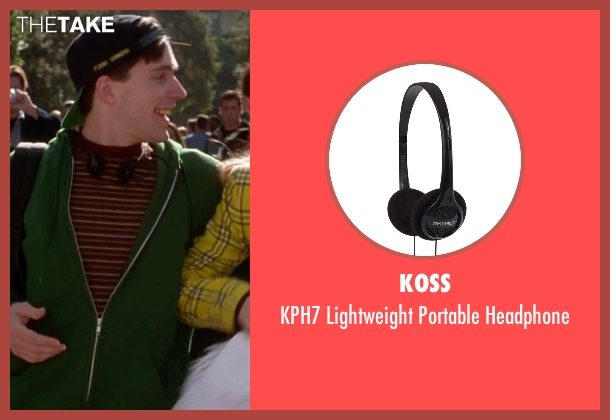 Koss headphone from Clueless seen with Unknown Actor (Unknown Character)