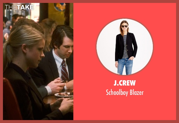 J.Crew black blazer from Crazy, Stupid, Love. seen with Unknown Actor (Unknown Character)
