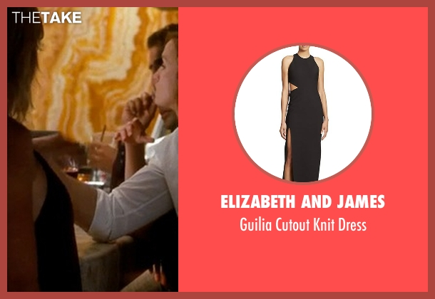 Elizabeth and James black dress from Crazy, Stupid, Love. seen with Unknown Actor (Unknown Character)