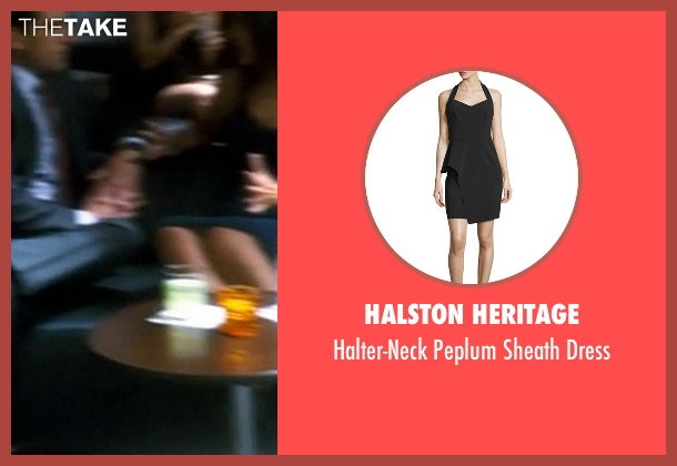 Halston Heritage black dress from Crazy, Stupid, Love. seen with Unknown Actor (Unknown Character)
