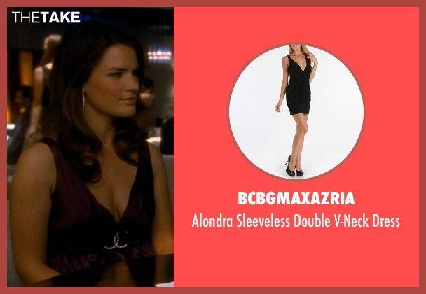 BCBGMAXAZRIA black dress from Crazy, Stupid, Love. seen with Unknown Actor (Unknown Character)