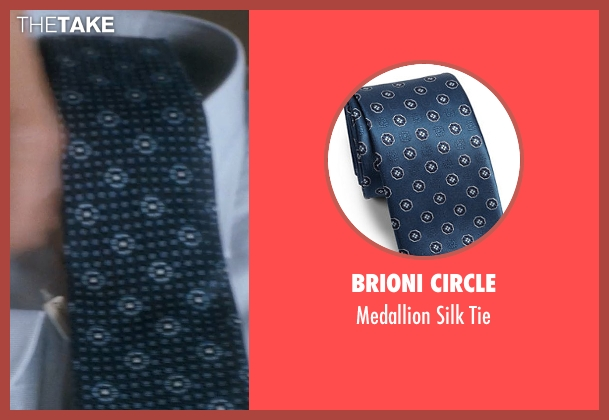 Brioni Circle blue tie from Crazy, Stupid, Love. seen with Unknown Actor (Unknown Character)