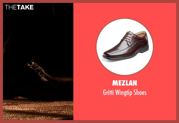 Mezlan brown shoes from Crazy, Stupid, Love. seen with Unknown Actor (Unknown Character)