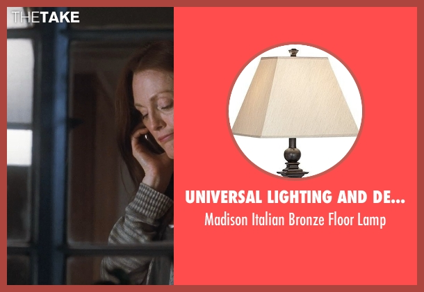 Universal Lighting and Decor lamp from Crazy, Stupid, Love. seen with Unknown Actor (Unknown Character)