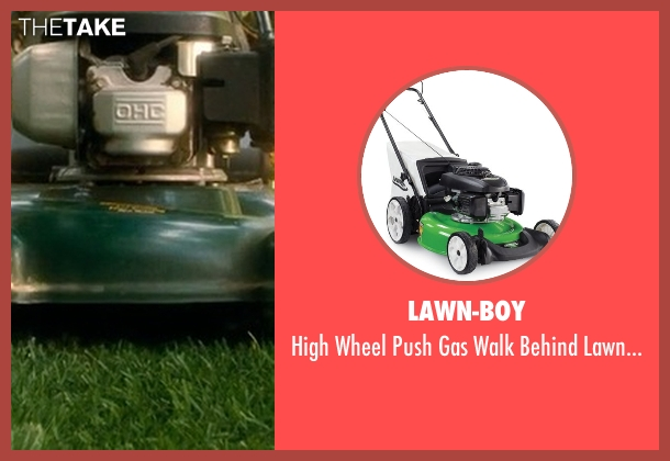 Lawn-Boy mower from Crazy, Stupid, Love. seen with Unknown Actor (Unknown Character)