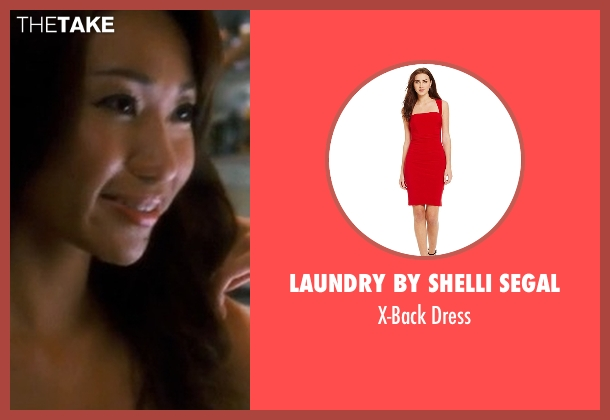 Laundry by Shelli Segal red dress from Crazy, Stupid, Love. seen with Unknown Actor (Unknown Character)