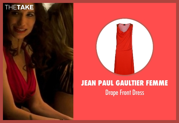 Jean Paul Gaultier Femme red dress from Crazy, Stupid, Love. seen with Unknown Actor (Unknown Character)