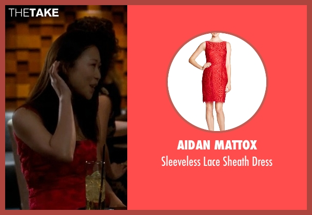 Aidan Mattox red dress from Crazy, Stupid, Love. seen with Unknown Actor (Unknown Character)